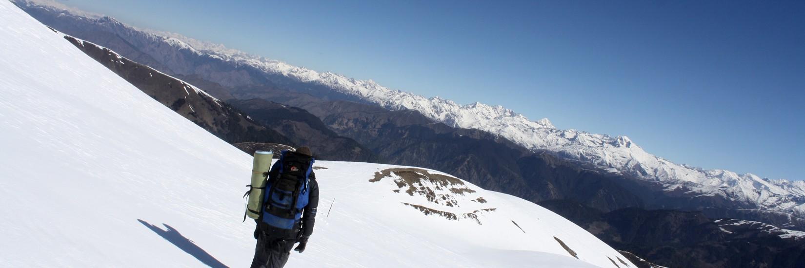 Kanjirowa Range from Chakhure Pass